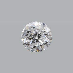1.00ct D SI1 round brilliant cut diamond GIA Cert