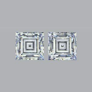 8.88ct Carre Cut Diamond
