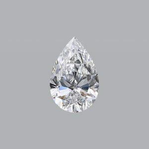 1.00ct D SI1 pear shape diamond GIA Cert 5192075027